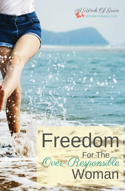 Do you often feel responsible for the feelings, actions and behavior of other people? If so, you might be an over-responsible person. Here is Freedom For The Over-Responsible Woman.