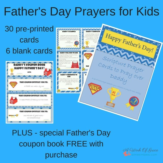 Need some Fathers Day gifts? How about prayer cards forhellip