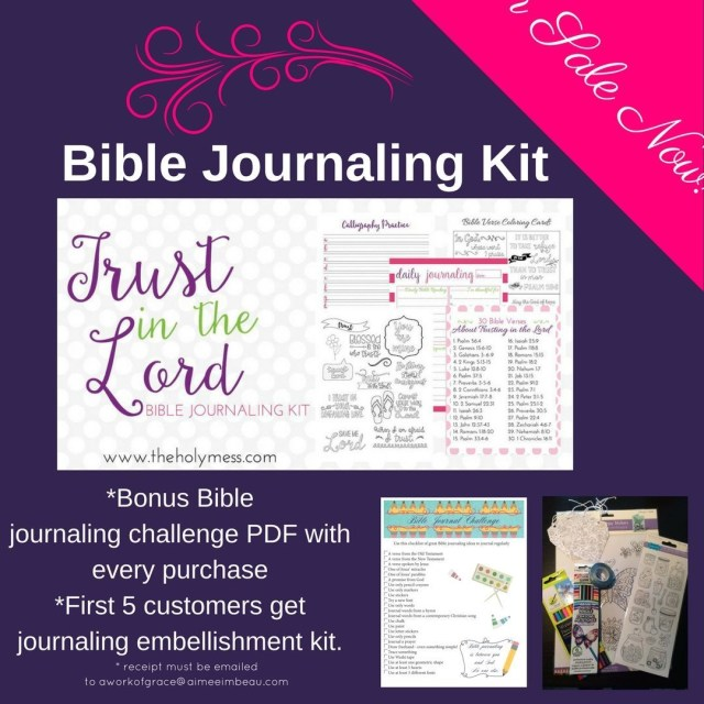 Sometimes my Pinterest search of Bible journaling ideas proves discouraginghellip