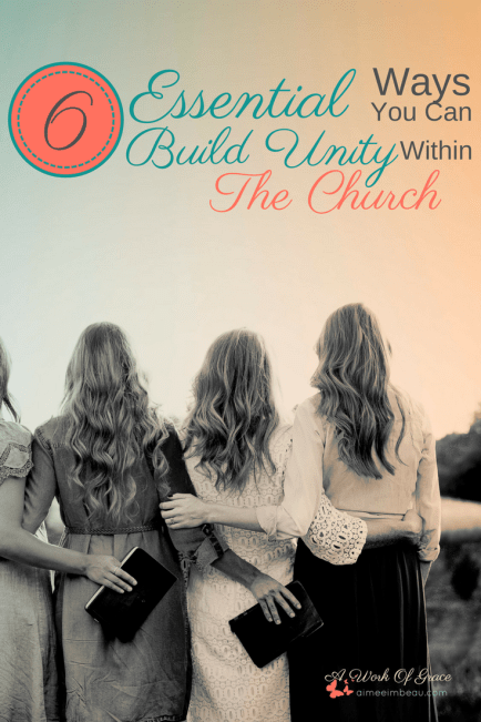 Our desire to attend something can undermine God's bigger plan for the church. Changing the way we look at church is vital to fulfilling His Master Plan. We need to remember that this is our family, and with family, comes responsibility. 6 Essential Ways You Can Build Unity Within The Church