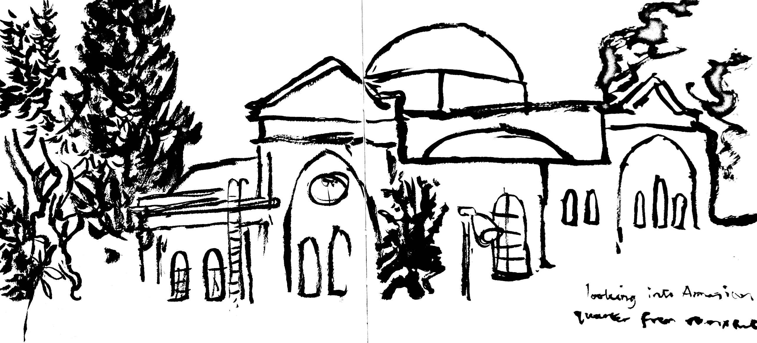 Sketches From Jerusalem Aimeelockwood