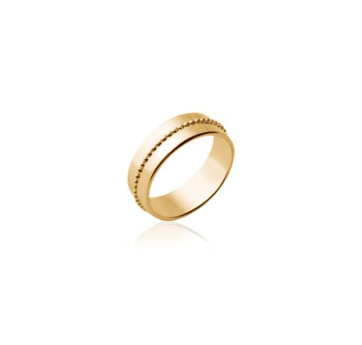 Bague Masha en plaqué or 18k 3 microns Aimée Private Collection nouveau modèle influenceuse tendance élégance bijoux fantaisie