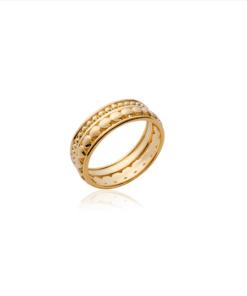 Bague Cliff en plaqué or 18k 3 microns Aimée Private Collection nouveau modèle influenceuse tendance élégance bijoux fantaisie