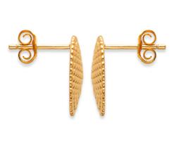 Boucles d'oreilles Fuji plaqué or 18K 3 microns Aimée Private Collection nouveau modèle influenceuse top tendance
