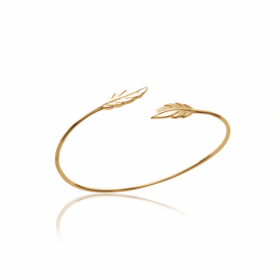 Jonc Amy plaqué or 18 carats 3 microns Aimée Private Collection bijoux tendances nouveau