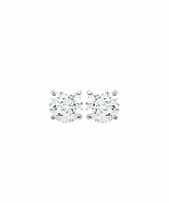 Boucles d'oreilles Halvie en argent 925 rhodié diamant Zirconium Aimée Private Collection nouveau modèle tendance