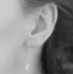 Boucles d'oreilles Peach en argent 925 rhodié Aimée Private Collection nouveau modèle bijoux