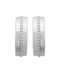 boucles d'oreilles Masha en argent 925 rhodié Aimée Private Collection nouveau modèle