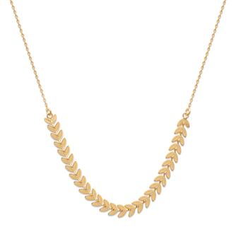 Collier Lory plaqué or Aimée Private Collection bijoux tendance influenceuse