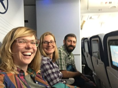 Last row, last flight out of ANC
