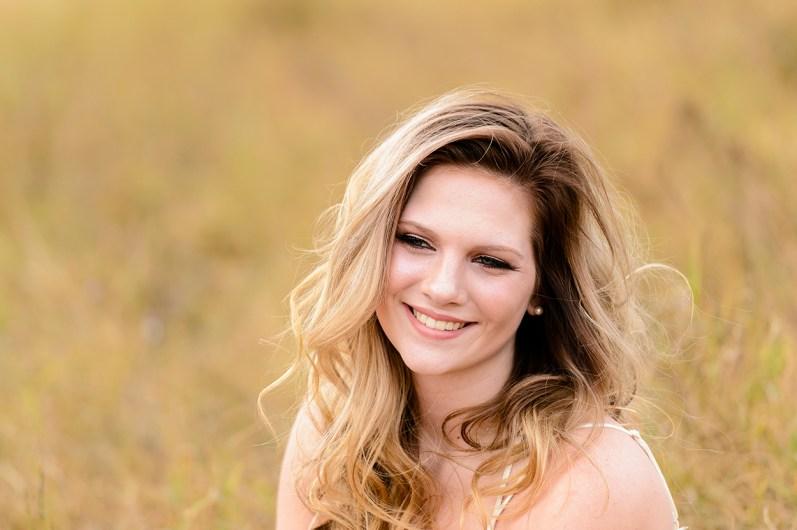 Pretty Senior Girl smiles