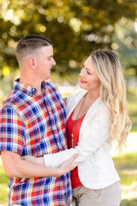 middle georgia couple session , engagement session in park