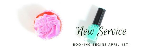 New Service and Pre-Booking Bonus!