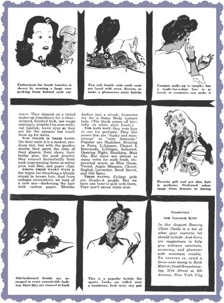 1940's College Girl Beauty Advice 2