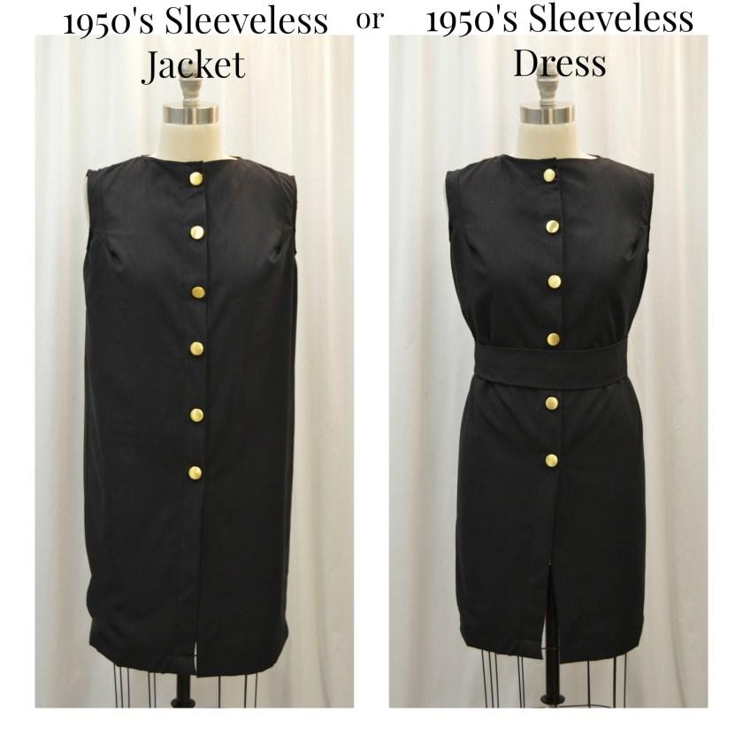 1950's jacket and dress