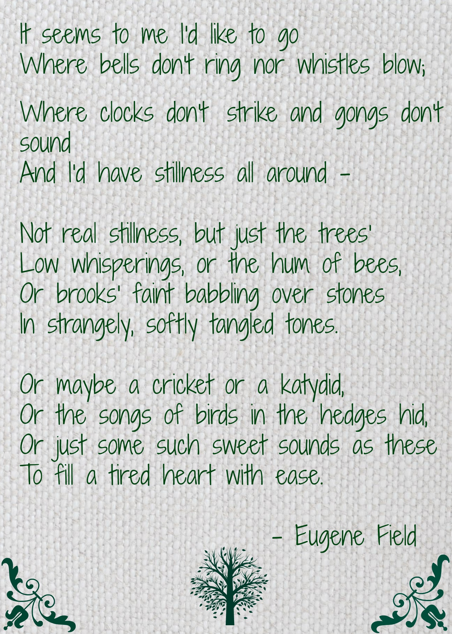 Poetry Celebrating Earth Day