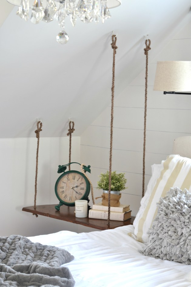 How To Make A Hanging Side Table DIY Aimee Weaver