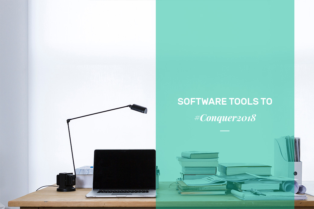 Software tools to #conquer2018