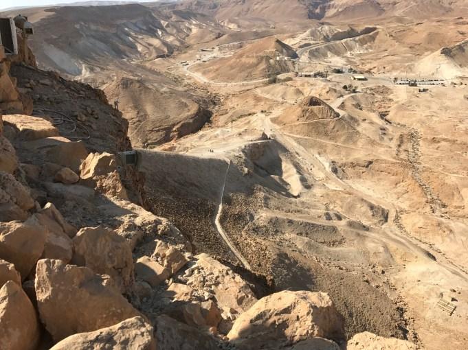 Low side of Masada