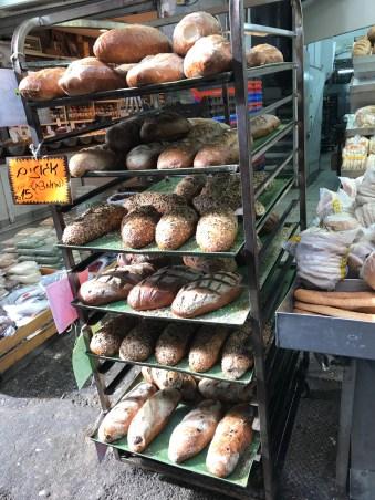 Bread in the Carmel Market