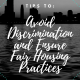 Avoid Discrimination in Real Estate