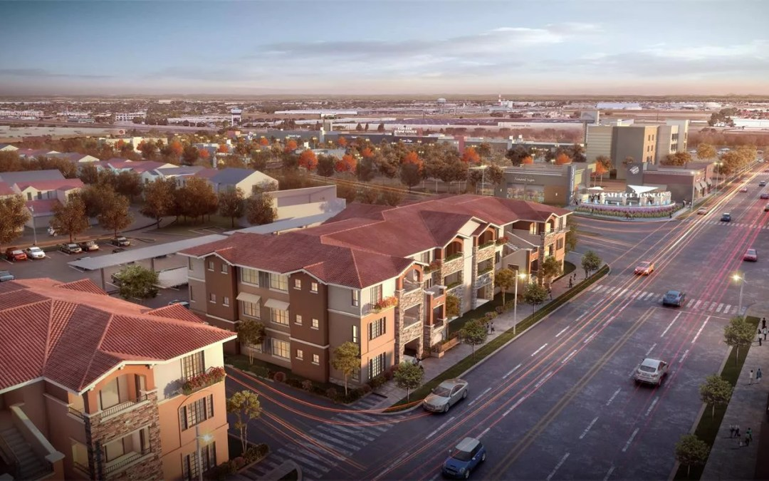 Lathrop Town Centre Apartments Was Approved by Using AIMIR's Architectural 3D Renderings