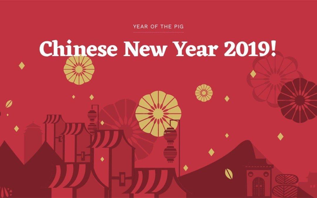 Chinese New Year Break Notice 2019 • Aimir CG