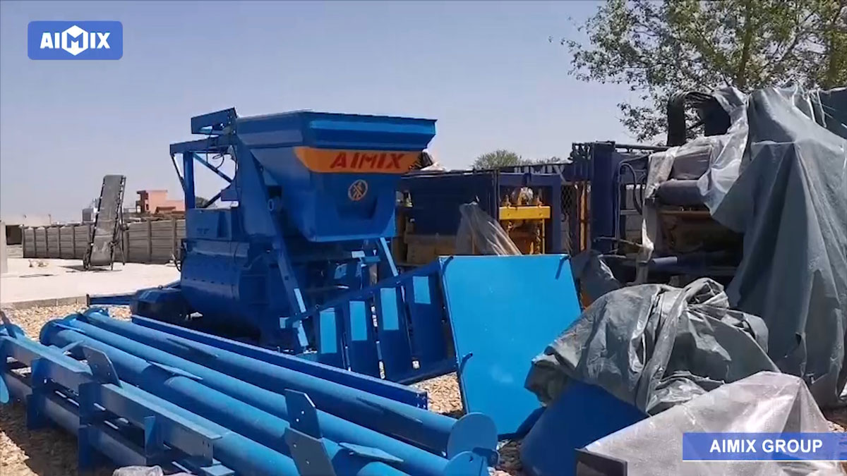 ABM-8S Brick Machine Was Successfully Shipped To Pakistan