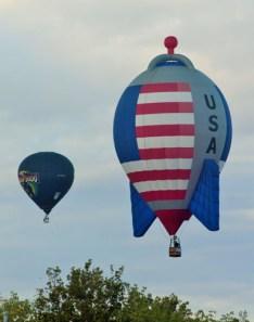 Interesting shaped hot air balloons