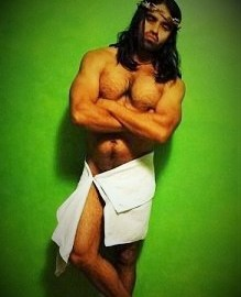 Jesus Shot Naked Funny Jesus Photo