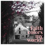 Angles-sur-l'Anglin, #devotion, faith, #BNW, #blacknwhite
