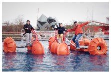 Giant Water Tricycles