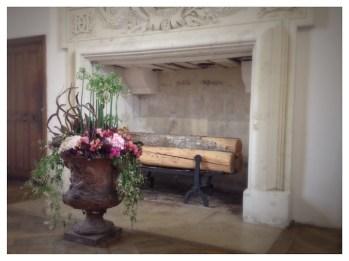 Château de Chenonceau, Chenonceau, France, Castle, Loire Valley, Flower arranging, Floral Design