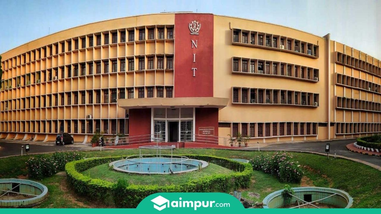 NIT campus front photo