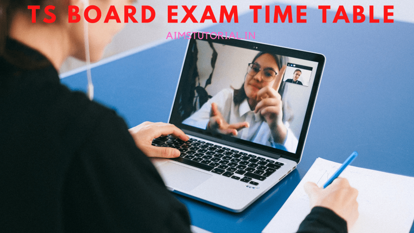TS board exam time table 2021