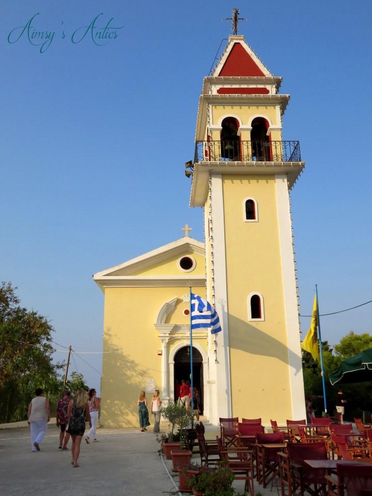 Panagia Chrysopigi Church, Bochali, Zakynthos
