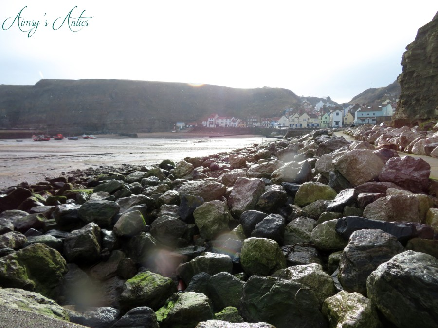 Sea view of Staithes