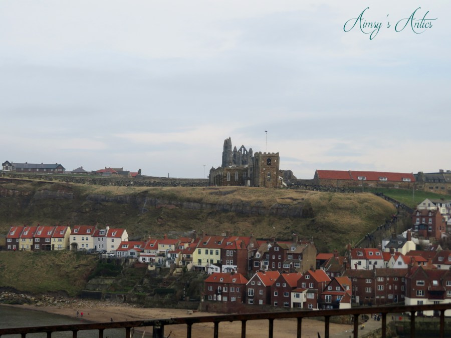 View of Whitby, with the Abbey in the background