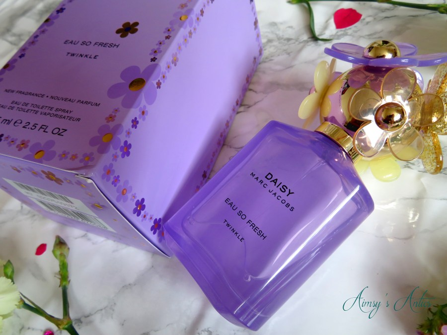 Marc Jacobs Daisy Twinkle perfume box and bottle
