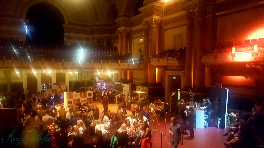Image of Leeds Town hall at the cocktails in the city event