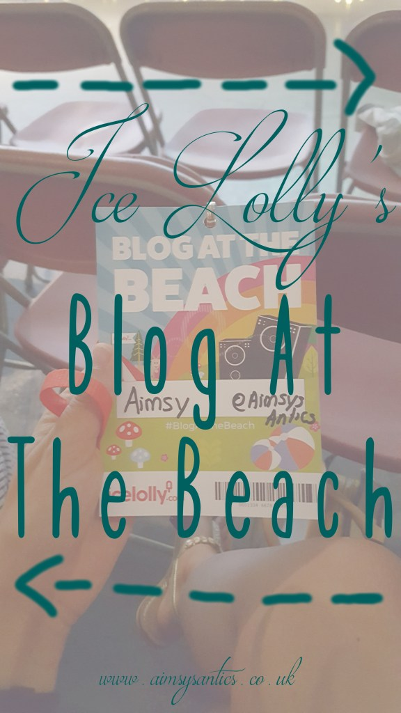 Ice Lolly's Blog At the Beach blog title photo