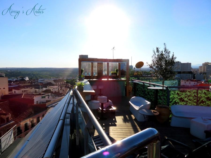 Hotel Santo Domingo Rooftop terrace view