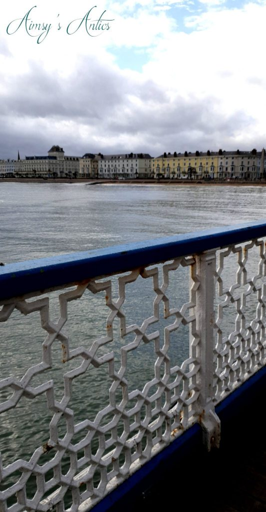 View of Llandudno from the pier
