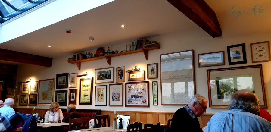 Inside view of The Cottage Loaf, Llandudno