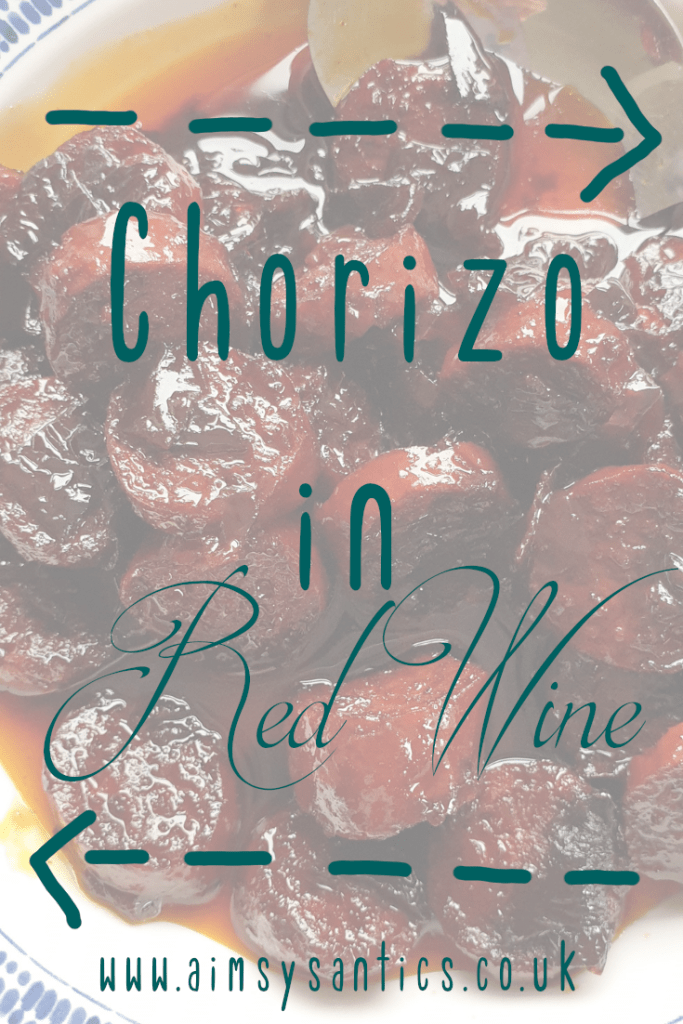 Chorizo in Red Wine | www.aimsysantics