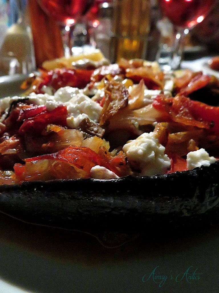 Papoutsakia - stuffed aubergine