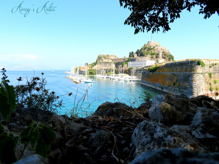 View of the old fortress, Corfu Town