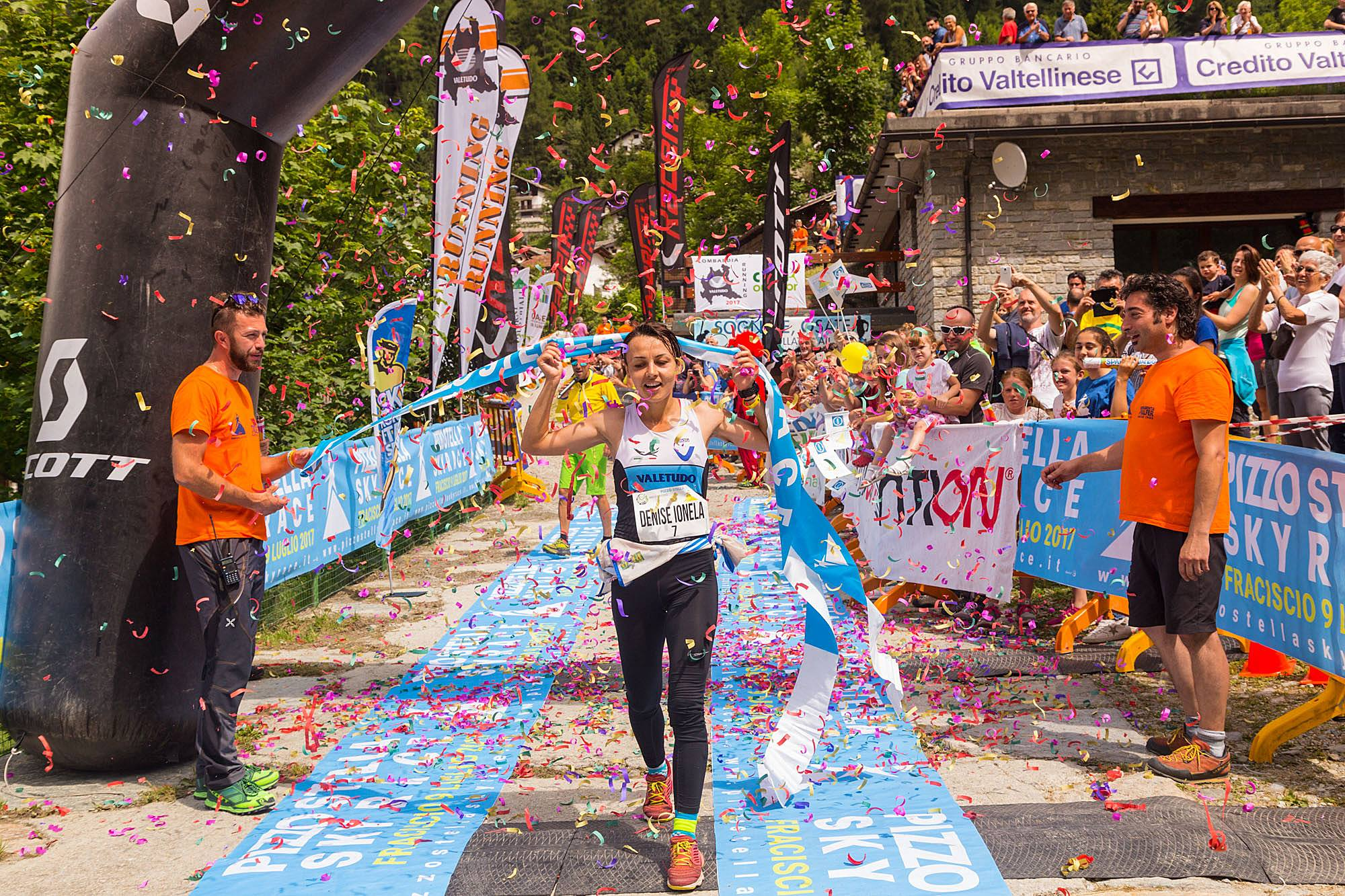 Trailrunning: Denisa Dragomir, stelara in Italia! Ingrid Mutter si Viorel Palici, pe podium la Pizzo Stella