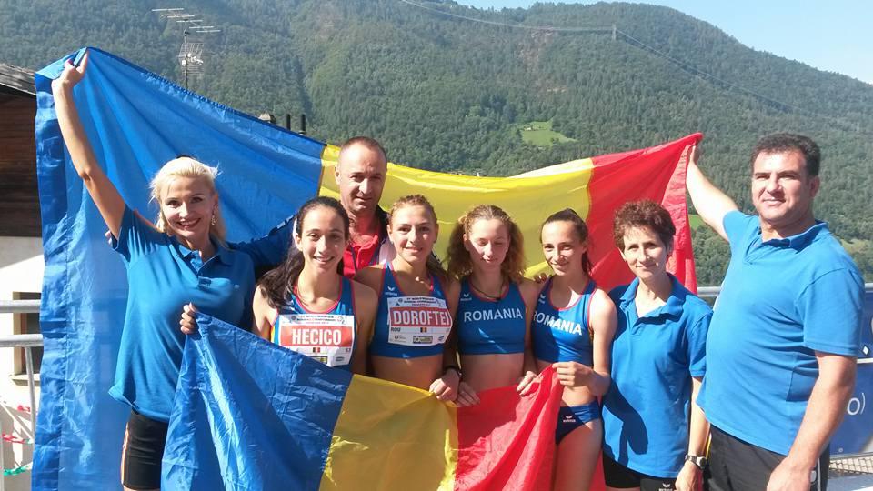 Aur si argint pentru Romania la Campionatele Mondiale de Alergare Montana pentru juniori