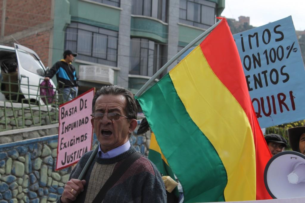Dr. Jorge Pelaez Rivero marching with COB
